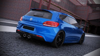 REAR VALANCE VW SCIROCCO III R WITH 2 EXHAUST HOLES