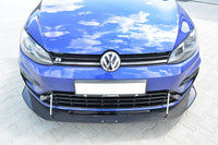 VW GOLF VII R (FACELIFT) - HYBRID FRONT RACING SPLITTER
