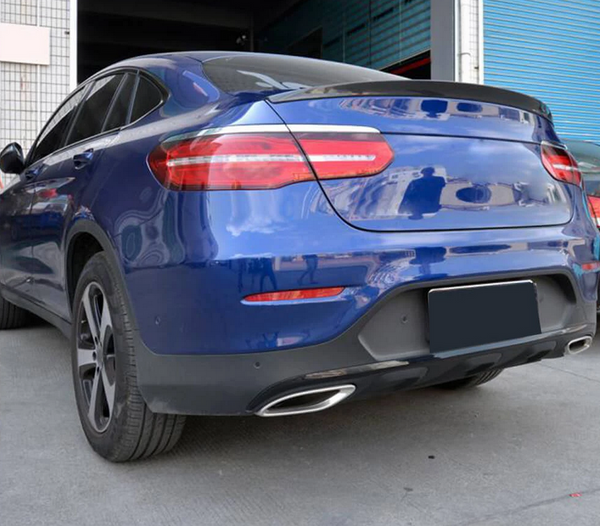 Mercedes Benz GLC Carbon Fiber Rear Trunk Spoiler Boot Wing Lip