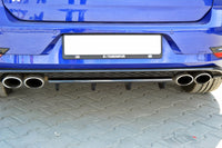 CENTRAL REAR SPLITTER VW GOLF VII R (FACELIFT)