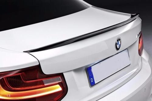 Rear lip carbon BMW F22 Coupe F87 M2 rear spoiler