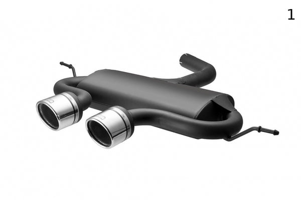 VOLKSWAGEN GOLF V R32 LOOK SPORTS EXHAUST MUFFLER EXHAUST