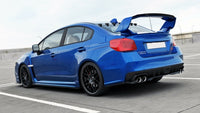 THE EXTENSION OF THE REAR WINDOW SUBARU WRX STI