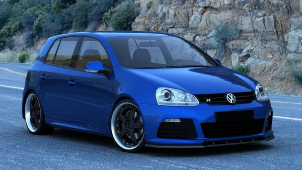 FRONT SPLITTER VW GOLF V (FOR MK6 R20 LOOK BUMPER)