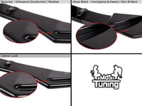 FRONT SPLITTER VW GOLF VI (FOR R400 BUMPER)