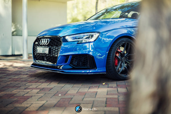 HORSCH CARBON FRONT LIP V2 AUDI RS3 8V FACELIFT