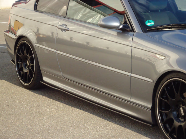 Carbon side skirts approach forr BMW E46 M2-Sport package (R/L)