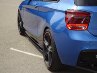 Carbon side skirts approach for BMW F21/22/23 (R/L)