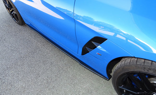 Carbon side skirts (R / L) for BMW Z4 G29 (curved version)
