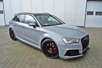 SIDE SKIRTS DIFFUSERS AUDI RS3 8V SPORTBACK