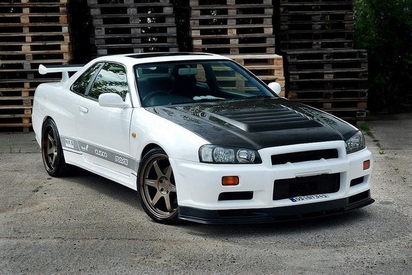 SIDE SKIRTS GTR LOOK NISSAN SKYLINE R34 GTR