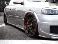 SIDE SKIRTS < RACER > OPEL ASTRA G 3 DOOR HB
