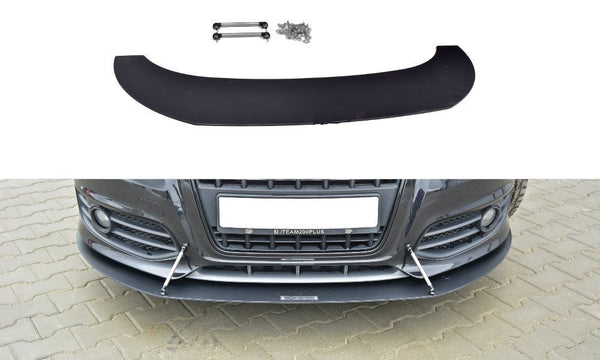 FRONT RACING SPLITTER AUDI S3 8P (FACELIFT MODEL) 2009-2013