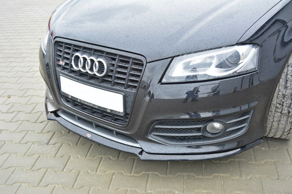 FRONT SPLITTER v.1 AUDI S3 8P (FACELIFT MODEL) 2009-2013