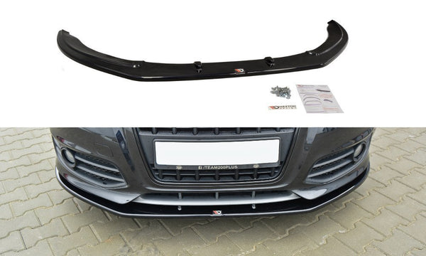 FRONT SPLITTER v.2 AUDI S3 8P (FACELIFT MODEL) 2009-2013