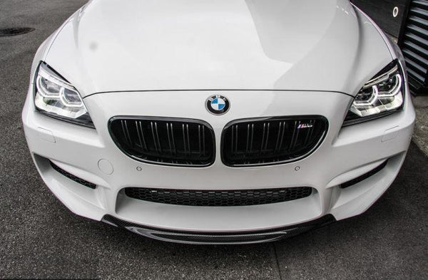 CARBON R-TYPE FRONT LAMP BMW M6 F12 F13 F06 FRONT SPOILER