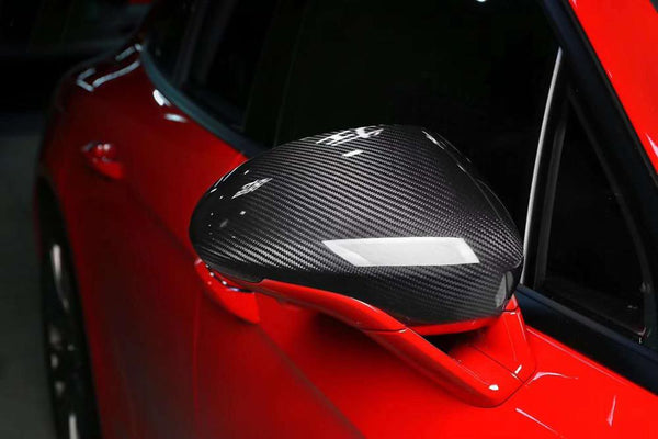Carbon Fiber Car Outer Mirrors for Porsche Panamera 2117-2018
