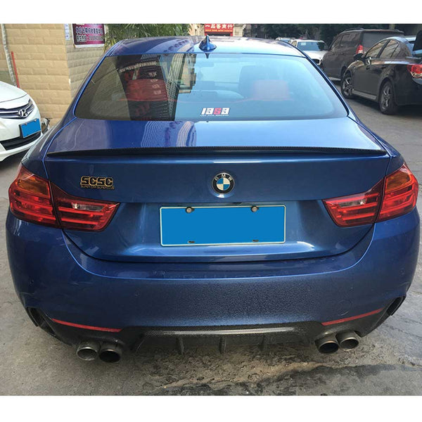 Carbon Fiber Rear Trunk Spoiler for BMW 4 Series F32 Coupe 14-16