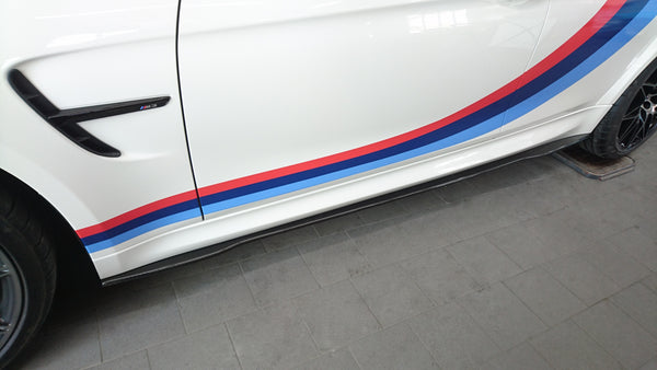 BMW M3 F80 Carbon Side Skirts
