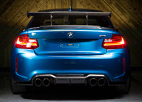 Diffuser M-Type Carbon BMW M2 F87 rear diffuser