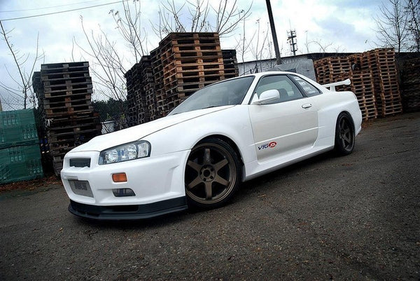 Front Extension Nissan Skyline R34 GTT v.2