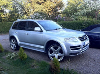 FENDERS EXTENSIONS - 8 elements - VW TOUAREG MK1 (before facelifting 2002-2006)