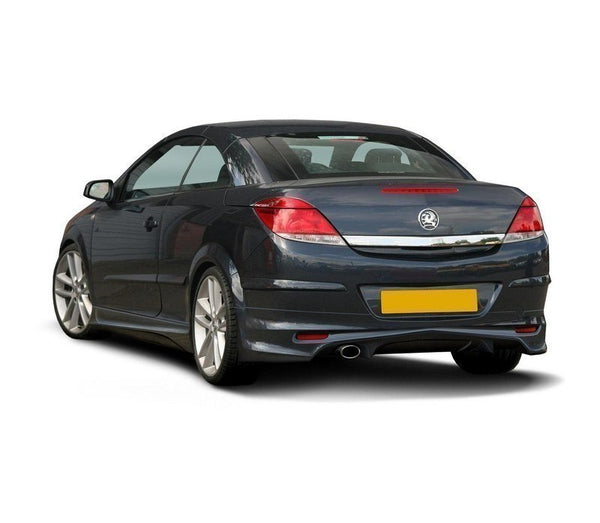 Rear bumper extension 2 opel astra H (Twin Top)