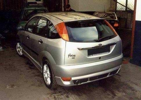 REAR BUMPER EXTENSION FORD FOCUS I HB PREFACE