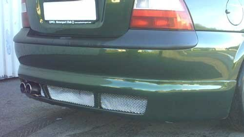 REAR BUMPER EXTENSION VECTRA B pre-face