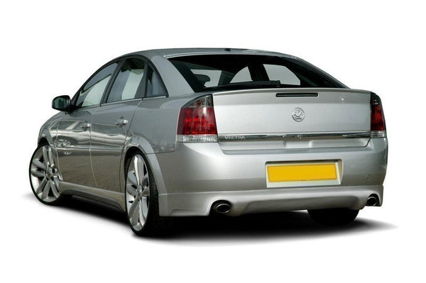 Rear bumper extension opel vectra c (GTS / SRI / GSI)