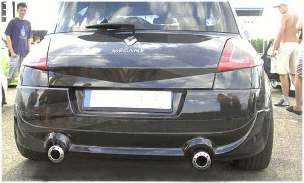REAR BUMPER EXTENSION RENAULT MEGANE II PHASE 1 HATCHBACK