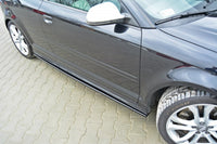 SIDE SKIRTS DIFFUSERS v.2 AUDI S3 8P (FACELIFT MODEL) 2009-2013