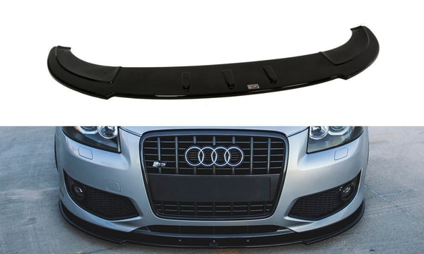 FRONT SPLITTER AUDI S3 8P (FACELIFT MODEL) 2006-2008