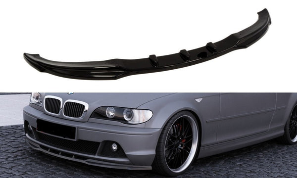 FRONT SPLITTER BMW 3 E46 COUPE FACELIFT MODEL