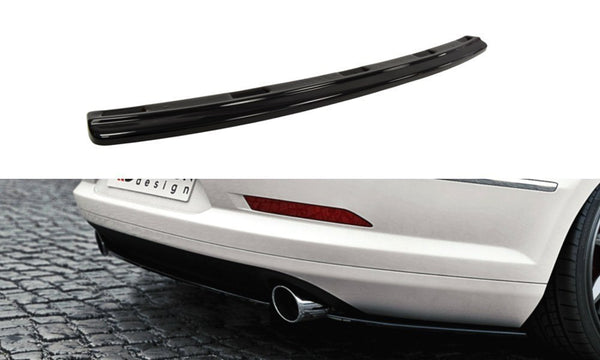 CENTRAL REAR SPLITTER VW Passat CC R36 RLINE (Preface) (without vertical bars)