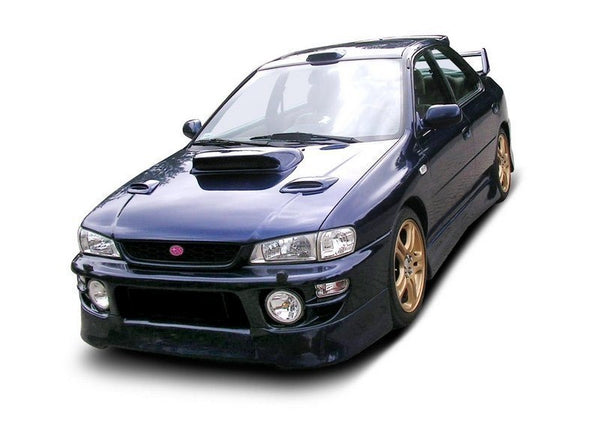 Small vents for bonnet SUBARU IMPREZA MK1 (1997-2000 GT / WRX / STI)