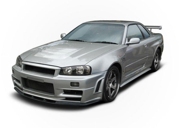 FRONT BUMPER NISSAN SKYLINE R34 GTR Z TYPE (WITHOUT DIFFUSER)