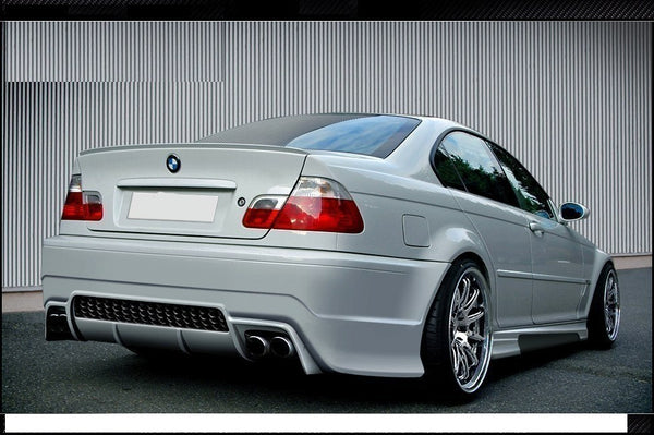 REAR BUMPER BMW 3 E46 - 4 DOOR SALOON < GENERATION V >