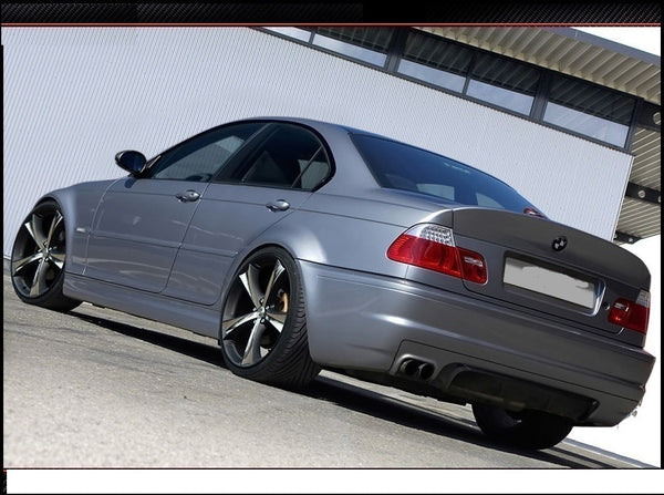 REAR BUMPER BMW 3 E46 - 4 DOOR SALOON < M3 LOOK >