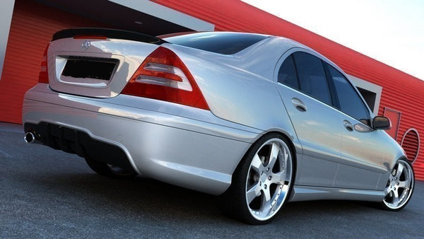 REAR BUMPER MERCEDES C W203 < AMG 204 LOOK>
