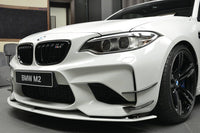 BMW M2 F87 AC Schnitzer Style Carbon Front Side Wings Canards