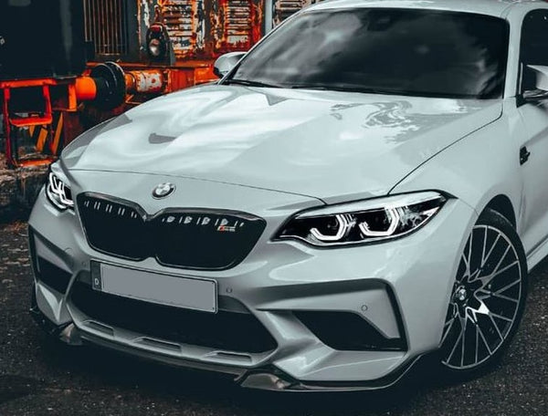 Front lip CS-2 for BMW M2 F87 Competition