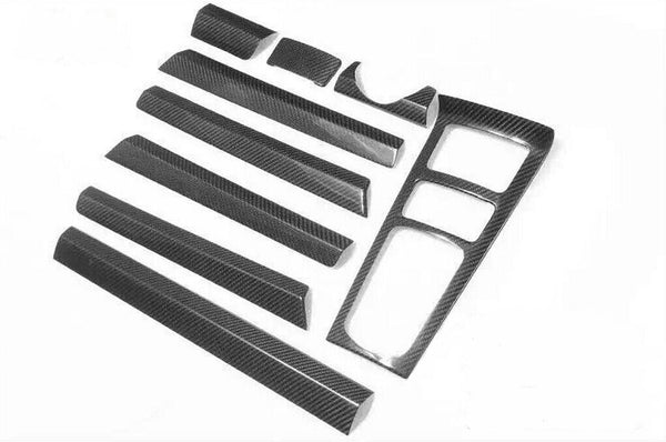 Porsche Cayenne Carbon Fiber Interior Dashboard Moulding trims