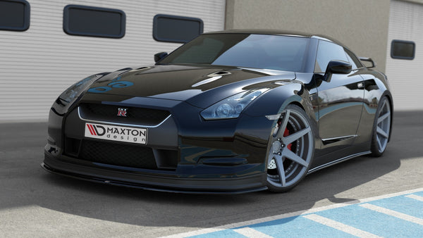 FRONT SPLITTER V.2 NISSAN GT-R PREFACE COUPE (R35-SERIES)
