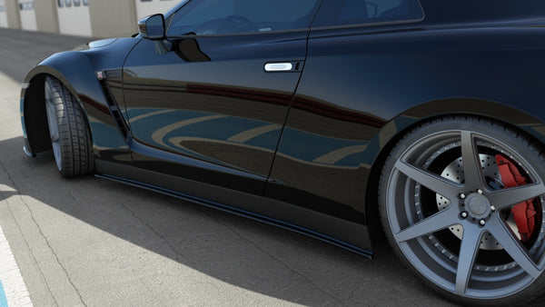 SIDE SKIRTS DIFFUSERS NISSAN GT-R PREFACE COUPE (R35-SERIES)