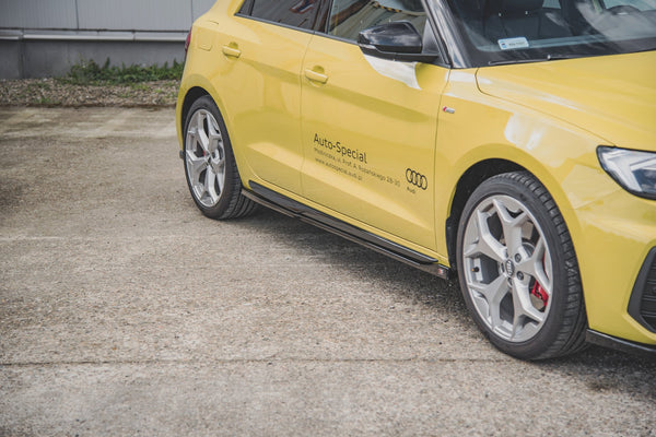 Side Skirts Diffusers Audi A1 S-Line GB