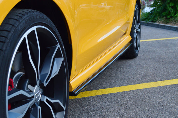 Side Skirts Diffusers Audi S1 8X