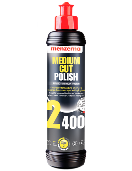 Medium Cut Polish 2400 - 250ml