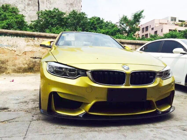 Front lip A-Type Carbon BMW M4 F82 F83 M3 F80 Front spoiler