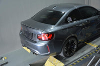 Rear spoiler Carbon BMW F22 Coupe F87 M2 rear lip